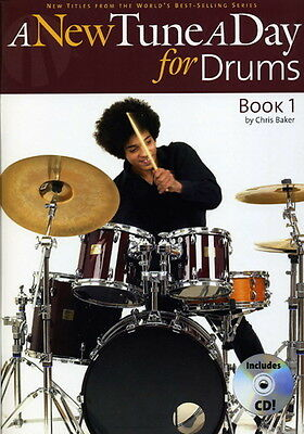 A New Tune A Day For Drums - Drums - Book 1