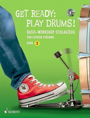 Get Ready - Play Drums ! - Schlagzeug - Band 2 - Partitur + CD