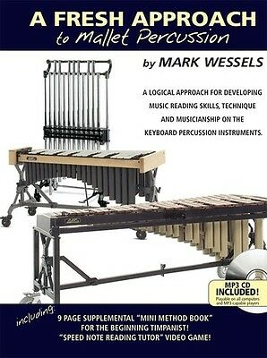 A Fresh Approach To Mallet Percussion - Percussion - Score + CD + DVD