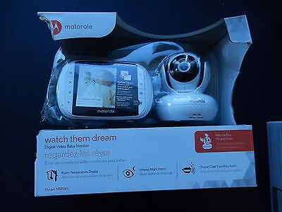 Motorola MBP36S Digital Video Baby Monitor NEW