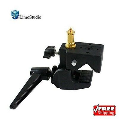 LimoStudio Super Clamp With Standard Stud For Photo Photography Studio AGG1108