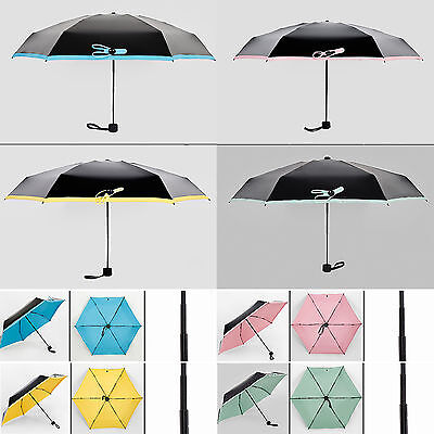 Mini Pocket Compact Folding Light Sun Uv Rain Travel Ultra Anti Small Umbrella