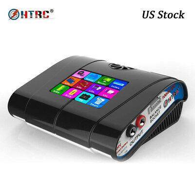 HTRC HT100 AC DC 100W Balance Charger for Lipo LiHv Lion LiFe Nicd NiMh battery
