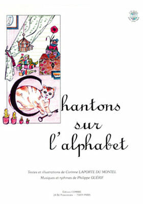 Chantons sur l'alphabet - Voix - Partition + CD