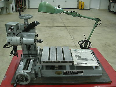 WESTHOFF 100  BENCH-TOP HORIZONTAL HIGH SPEED DRILLING MACHINE EDM Electrode