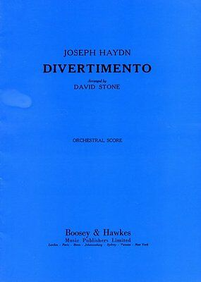 Divertimento St. Anthony Chorale - Orchestra - Score and part(s)