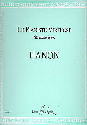 Le Pianiste virtuose 60 exercices - Piano - Partition