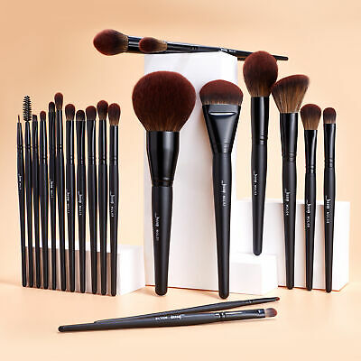 25Pcs professional Makeup Brushes Set Powder Blusher Foundation Stipping  Check