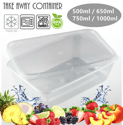 Bulk Lot Take Away Containers Food Containers Storage Boxes Takeaway Wholesale