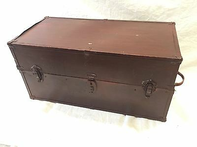 Steamer Trunk Converted To Wardrobe Vintage Project