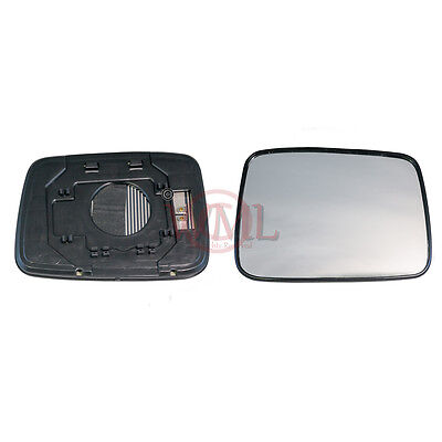 Door Mirror Glass  Convex,heated & Base,right Side For Nissan X Trail 2001>2007