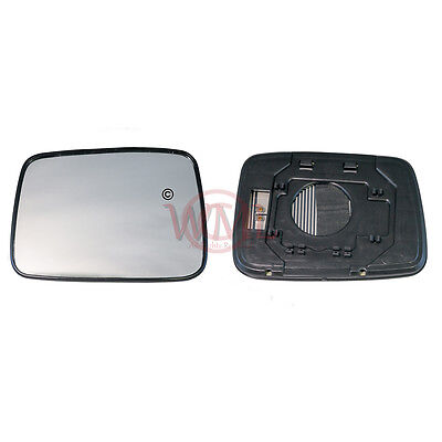 Door Mirror Glass Heated & Base Plate, Left Side For Nissan X Trail 2001->2007