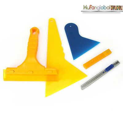 Window Tinting Tendon Tool Kit for Tint Film Black Out Privacy Auto Car Squeegee