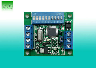 DMX 512 SPI RGB RGBW pixels combination controller for WS2812(b) WS2811 SK6812