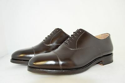 MAN-7eu-8us-CAPTOE OXFORD-SHINE BROWN CALF-VITELLO-LEATHER SOLE-SUOLA CUOIO