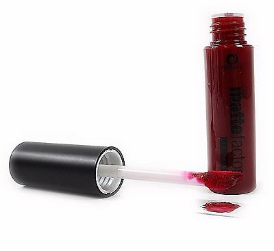 DEEP RED Matte Factor Lip Paint MINERS Cosmetics Lipstick Make up Lips NEW UK
