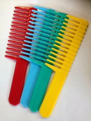 Girls Wide Teeth Large Plastic Comb - Anti-Static Combing