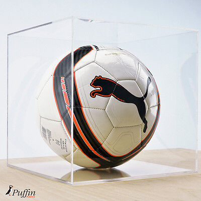 Perspex Football Display Case - Clear