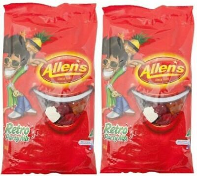 Allens Retro Party Mix 2kg Lollies Candy Buffet Sweets Treats Party Favors Boxes