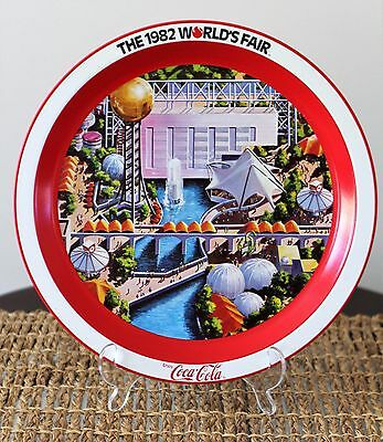 Vintage 1982 Coca Cola World's Fair Commemorative Tray Knoxville Tennessee