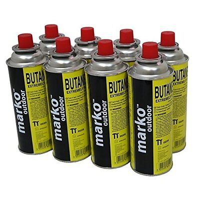 8x Weed Burner Gas Bottle Canisters Blast Flame Butane Gas Blast Garden Clean