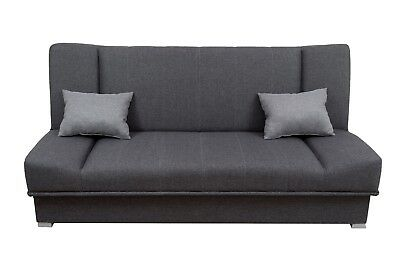 New Click Clack Sofa Bed With Storage Ikea Leather 3 Seater Polska Wersalka SN