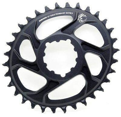 Sram X-SYNC 2 OVAL 12 spd Direct Mount 38T Chainring 3mm Offset XX1//X01//GX Eagle