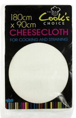 Cook's Cheesecloth 180cm x 90cm Muslin For Cooking Straining Draining Making