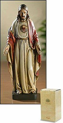 Sacred Heart of Jesus Figurine 8 Inches NEW  SKU PS986