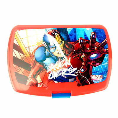 Boite à goûter/ lunch box Avengers (Iron man/ Captain America)