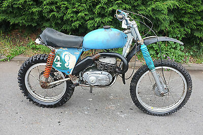 Bultaco 350 Alpina 1972 matching numbers BARN FIND *A MUST SEE*