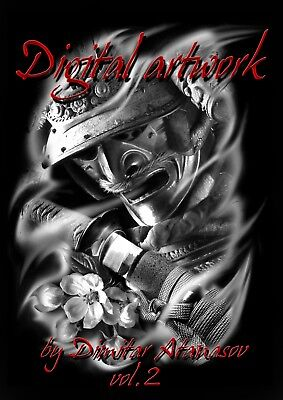 Tattoo Book Digital Artwork Designs  Vol-2