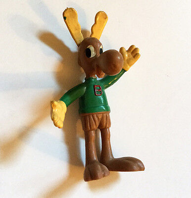Vintage Rocky and Bullwinkle Moose Toy Figure