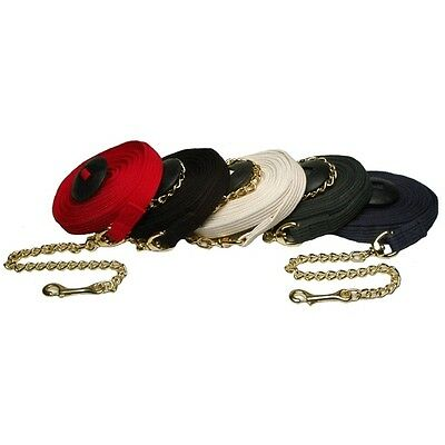 Jacks Lunge Line with Chain - 25 ft. Long - Different Colors