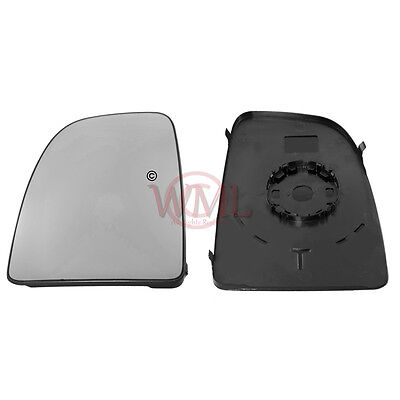 Citroen Relay 2006->2019 Wing Mirror Glass,Non Heated With Base Plate, Left Side