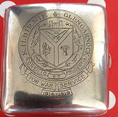 Great War Cigarette Tin.  Price Reduced.