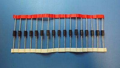 (17PCS) 1.5KE62CA LITTELFUSE Diode TVS Single Bi-Dir 53V 1.5KW 2-Pin DO-201