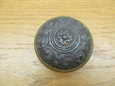 """Old Door Knob """" As Found """" Brass Plated Band"""