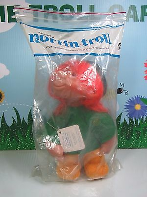 "1982 GEORGETTE w/HANG TAG  - 10"" Dam Norfin Troll Doll - FRESHLY OPENED BAG New"