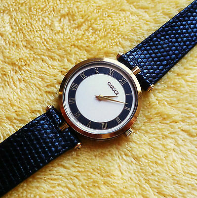 4c9ebebe8e2 Gucci 2000M Men s or Women s 18KGP Stack Watch in Excellent Condition ~ 30  mm