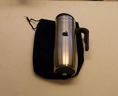 Apple Logo Stainless Steel Tall Coffee Travel Mug by Apple - NEW