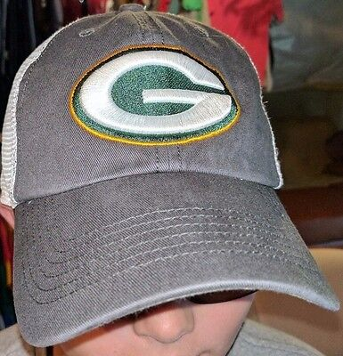 Green Bay Packers NFL Football  47 Brand Closer Stretch Fitted Hat Cap(L  0bca75e99