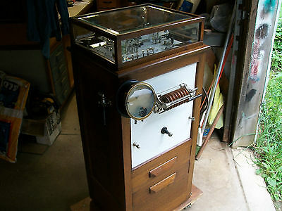 """Thompson-Plaster Type """"F"""" Electrical Medical Cabinet-Circa 1920's"""