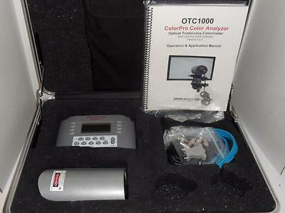 Sencore OTC1000 Color Pro Optical Color Video Analyzer Kit