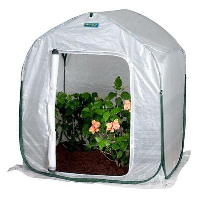 FlowerHouse Portable Pop-Up Fabric Greenhouse Convenient Plants Storage House