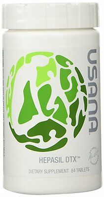 USANA Hepasil DTX Liver Health with InCelligence Detox  84 Tablets.Milk Thistle