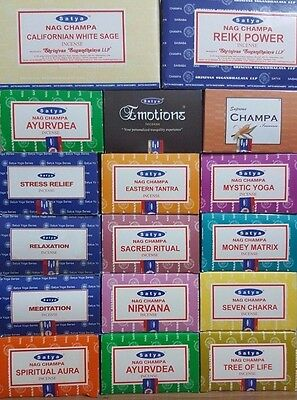 4 pack  of 15g Origional Satya Sai Baba Nag Champa Incense Sticks Joss Insence