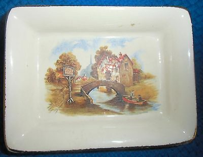 "Lancaster & Sandland small butter dish ""The Jolly Boatman"""