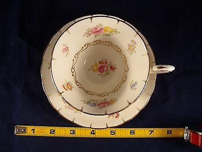 Tuscan Fine Bone China Made In England B 8 Floral Patt. Pink, Blue,yellow, Gold