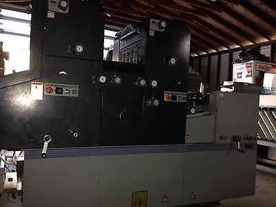 Ab Dick 9995A Ryobi 3302Ha True Two Color Printing Press